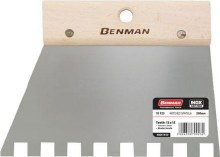 Benman Square Notched Spatula 10x10mm Tooth