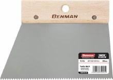 Benman Triangle Notched Spatula 200mm