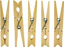Pine Wooden Clothes Pegs