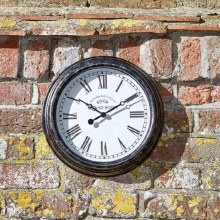 Biarritz 12in Garden Wall Clock