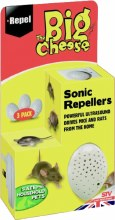 Big Cheese Sonic Repeller Triple Pack