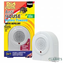 Big Cheese Anti-Mouse Battery Operated Sonic Repeller