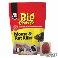 Big Cheese Mouse & Rat Killer 15 Sachets