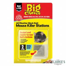 Big Cheese Mouse Killer Station Pack of 2