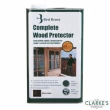 Bird Brand Complete Wood Protector Preserver Ebony Black 5 Litre