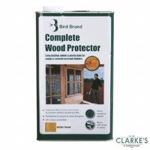 Bird Brand Complete Wood Protector Preserver Golden Brown 5 Litre