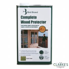 Bird Brand Complete Wood Protector Preserver Forest Green 5 Litre