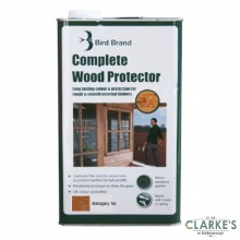 Bird Brand Complete Wood Protector Preserver Mahogany Tan 5 Litre