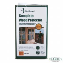 Bird Brand Complete Wood Protector Preserver Red Cedar 5 Litre