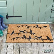 Bird Song - Coir Door Mat