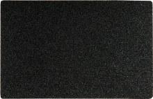 Black PVC door Mat 40x60cm