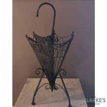Metal Brolly Stand Back
