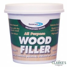 Bond It All Purpose Wood Filler Dark Oak 250ml