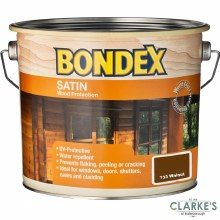 Bondex Satin Wood Protection Walnut 750 ml