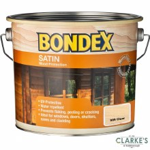 Bondex Satin Clear Colour