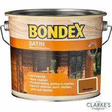 Bondex Satin Wood Protection Chestnut 750ml