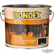 Bondex Satin Wood Protection Ebony 2.5 Litre