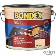 Bondex Matt Wood Protection Clear 750ml