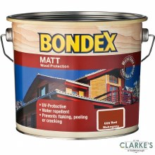Bondex Matt Wood Protection Red Mahogany 750ml