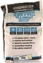 Bondmaster Mould Resistent Tile Grout 5kg