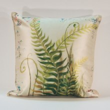 Botanical Curl Fern Cushion