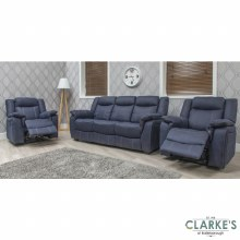 Brooklyn 1 Seater Recliner Denim