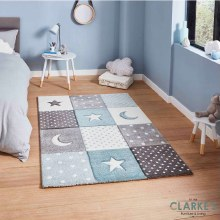 Brooklyn Kids Rug 20340 Blue 80 x 150cm
