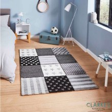 Brooklyn Kids Rug 777 Grey 80 x 150cm