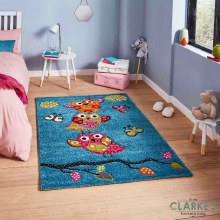 Brooklyn Kids Rug 793 Blue 80 x 150cm