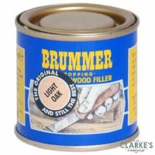Brummer Stopping Interior Wood Filler Light Oak 250g