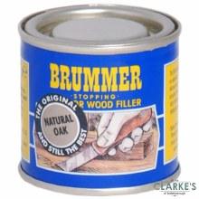 Brummer Stopping Interior Wood Filler Natural Oak 250g