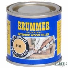 Brummer Stopping Interior Wood Filler Pine 250g
