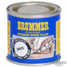 Brummer Stopping Interior Wood Filler White 250g