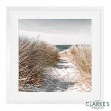 Dunes - Framed Wal Art 50 x 50 cm