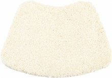 Buddy Bath Mat Curve Cream 50x80cm