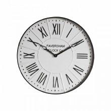 Burnett Clock White