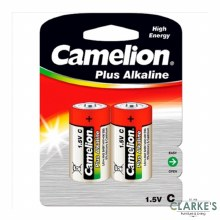 Camelion Plus Alkaline C Batteries Pack of 2