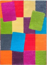 Candy Blocks Kids Rug 67 x 120cm