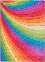 Candy Rainbow Kids Rug 67 x 120cm
