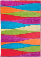Candy Waves Kids Rug  67 x 120cm