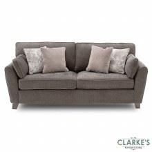 Cantrell 3 Seater Sofa Mushroom Grey