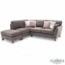Cantrell LHF Corner Sofa Mushroom Grey