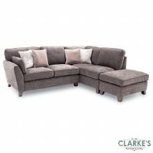 Cantrell RHF Corner Sofa Mushroom Grey