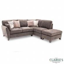 Cantrell RHF Corner Sofa Mushroom | PRE-ORDER Price