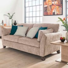 Cantrell 3 Seater Sofa Almond