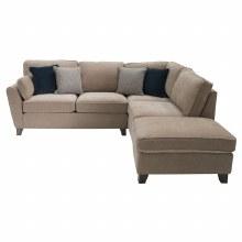 Cantrell RHF Corner Sofa Almond