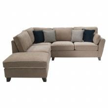 Cantrell LHF Corner Sofa Almond