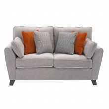 Cantrell 2 Seater Sofa Silver