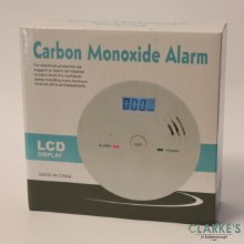 Carbon Monoxide Alarm with LCD Screen