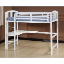 Carla Study Bunk Bed White